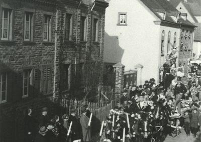 Festzug Karneval 1938 Hauptstr.