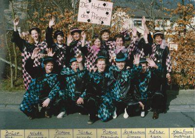 Hofnarren des Prinzen 1992