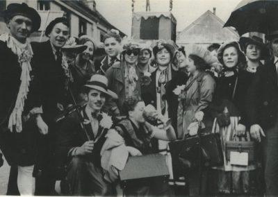 Karneval 1936 Motivgruppe Kraft durch Freude