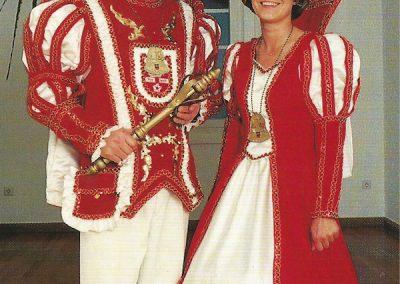 Prinz Willi I. Konieczny und Prinzessin Claudia I. Welsch 2000