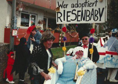 Riesenbaby 1995 Guenther Sackenheim